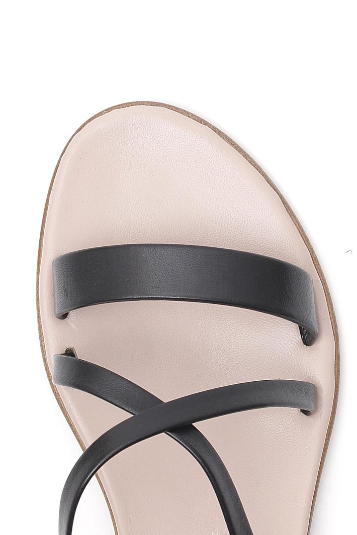 Sandali in pelle Intrend