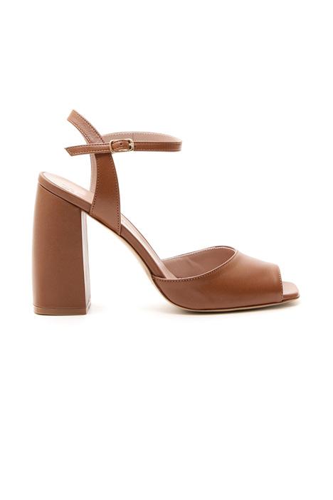 Sandali in pelle Diffusione Tessile