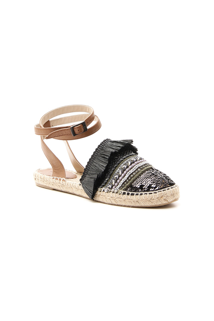 Embroidered espadrilles Intrend
