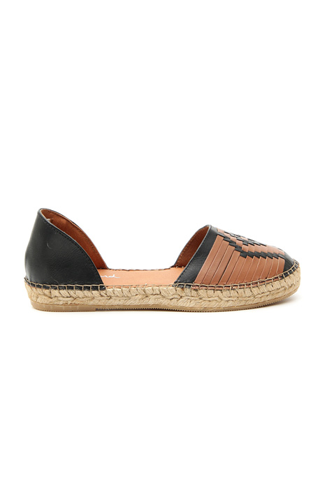 Leather espadrilles Intrend