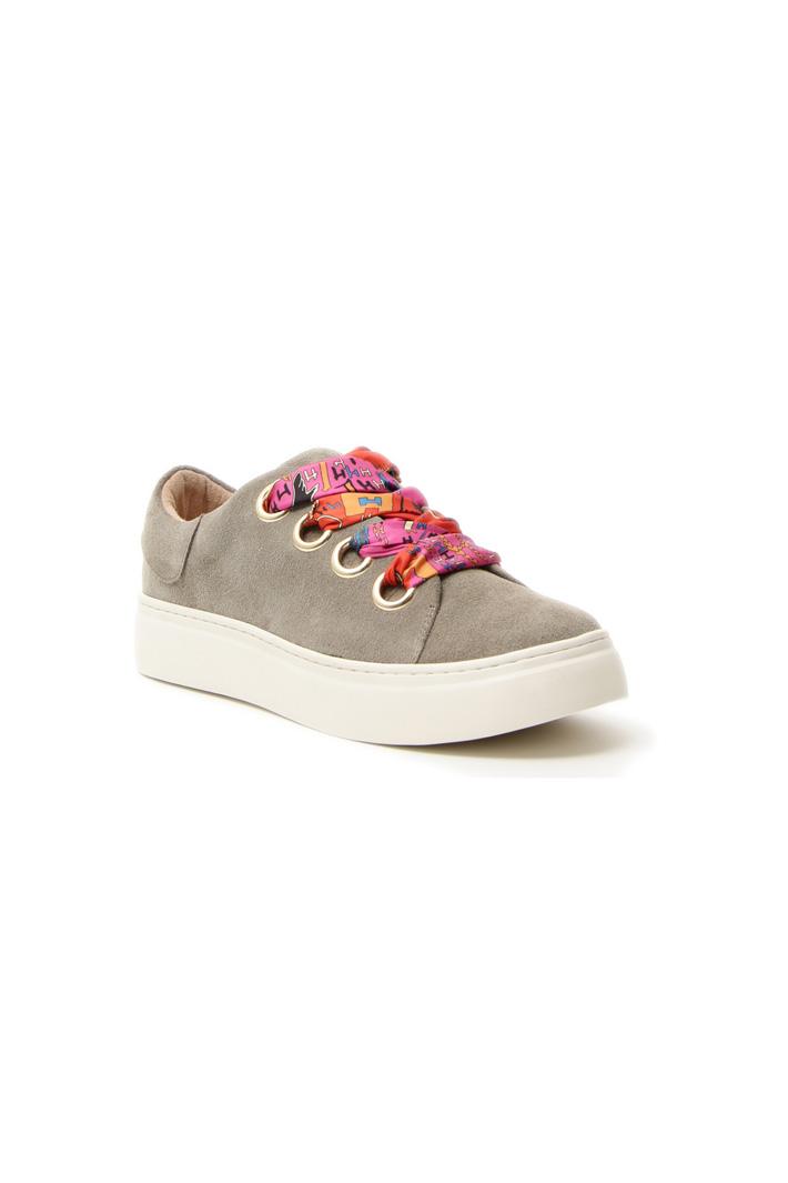Sneakers con lacci multicolor Intrend