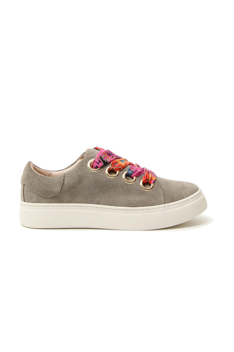 Multi-coloured lace sneakers Intrend