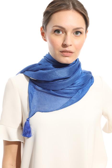 Tassel glossy scarf Intrend