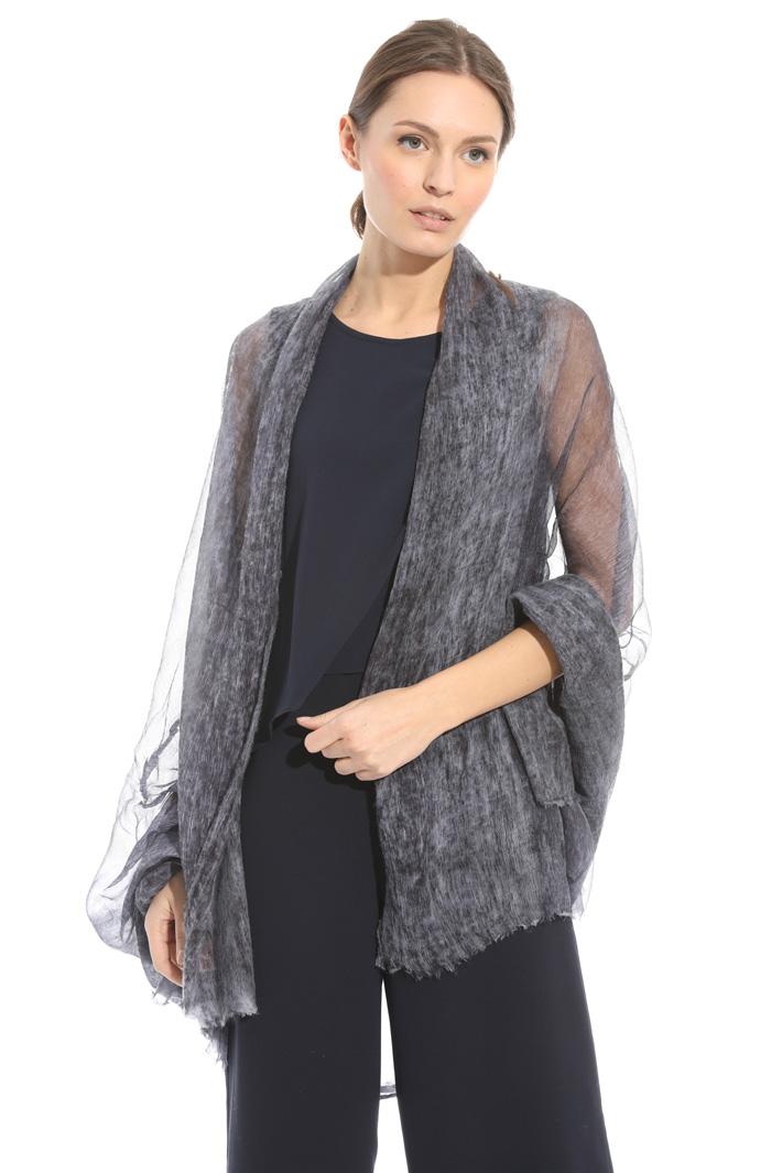 Soft pure silk scarf Diffusione Tessile