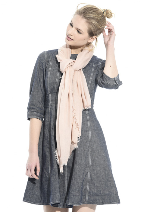 Viscose and wool scarf Diffusione Tessile
