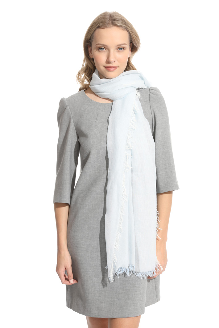 Cotton gauze stole Intrend