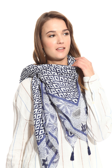Foulard in cotton muslin  Diffusione Tessile