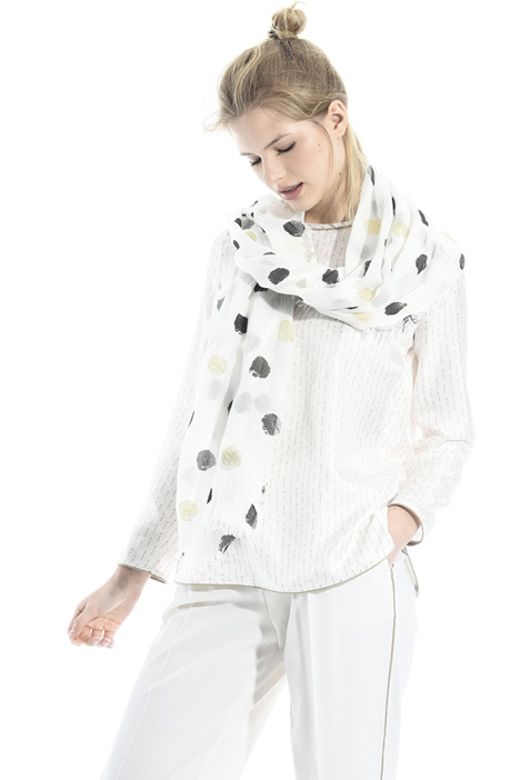 Lurex polka-dot scarf Intrend
