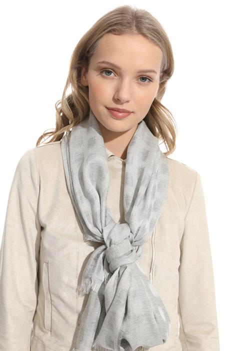 Viscose blend jacquard scarf Intrend