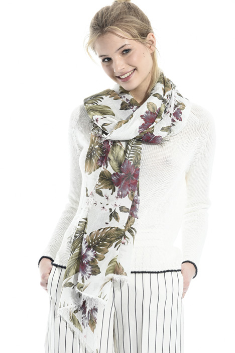 Floral print scarf Intrend