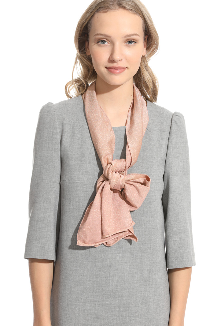 Viscose and lurex scarf Intrend