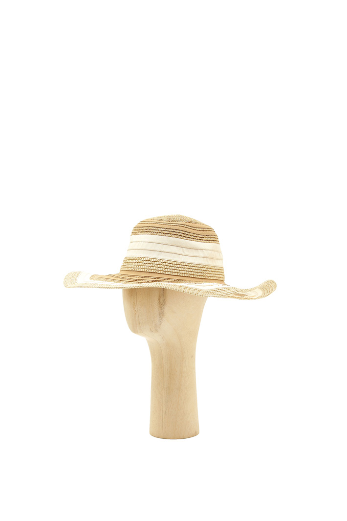 Lurex striped hat Intrend