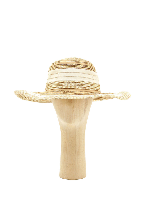 Lurex striped hat Diffusione Tessile