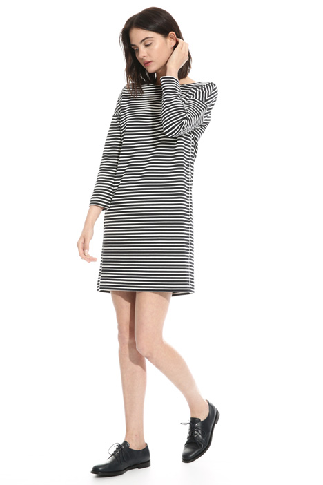 Milan stitch jersey dress  Diffusione Tessile