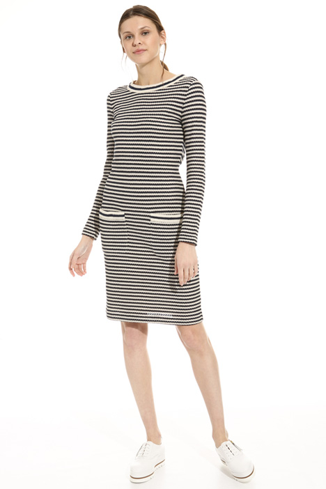 Jacquard knit dress Intrend