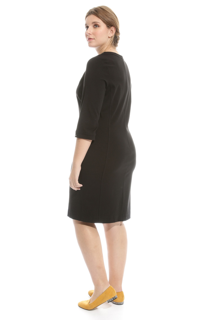 Sheath dress in jersey Diffusione Tessile