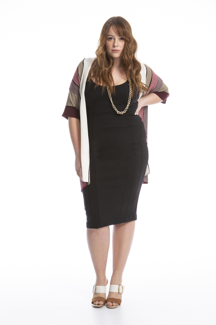 Jersey sheath dress Intrend