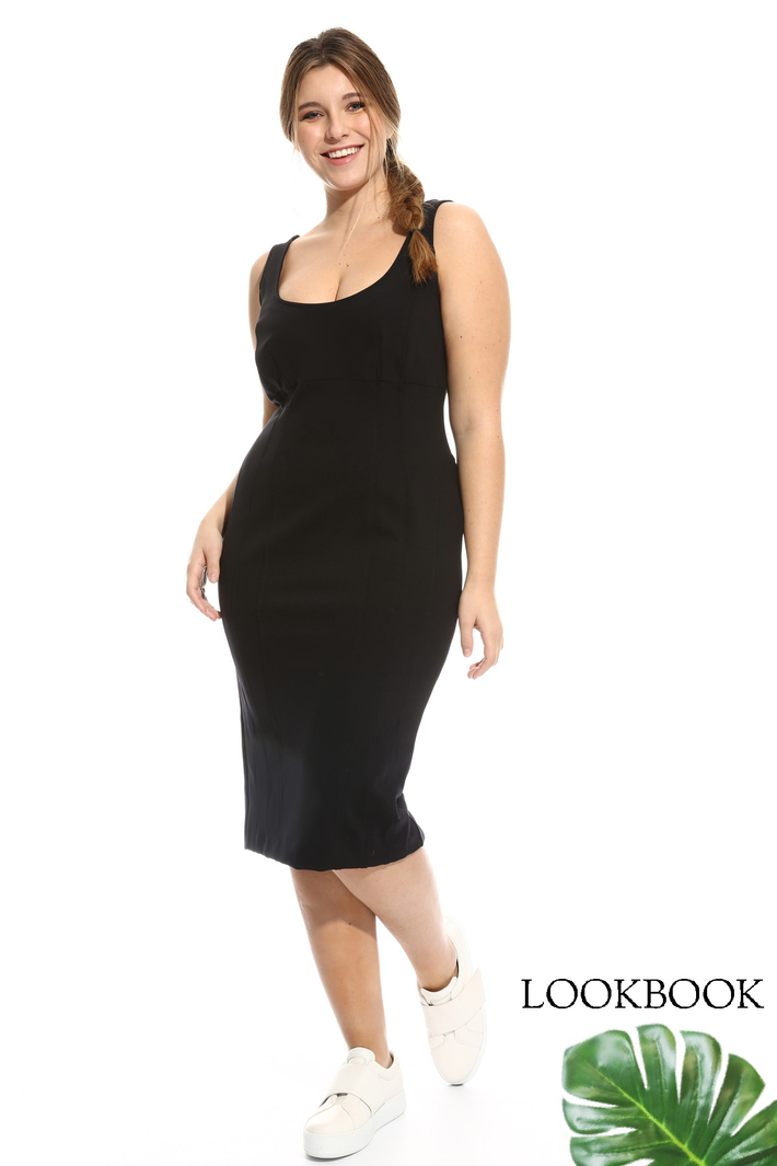 Jersey sheath dress Diffusione Tessile