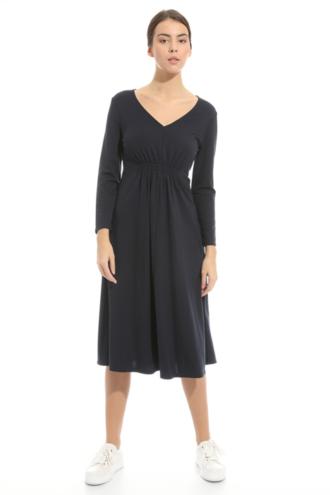 Ruched jersey dress Diffusione Tessile