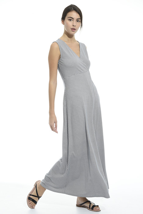 Long jersey dress Diffusione Tessile