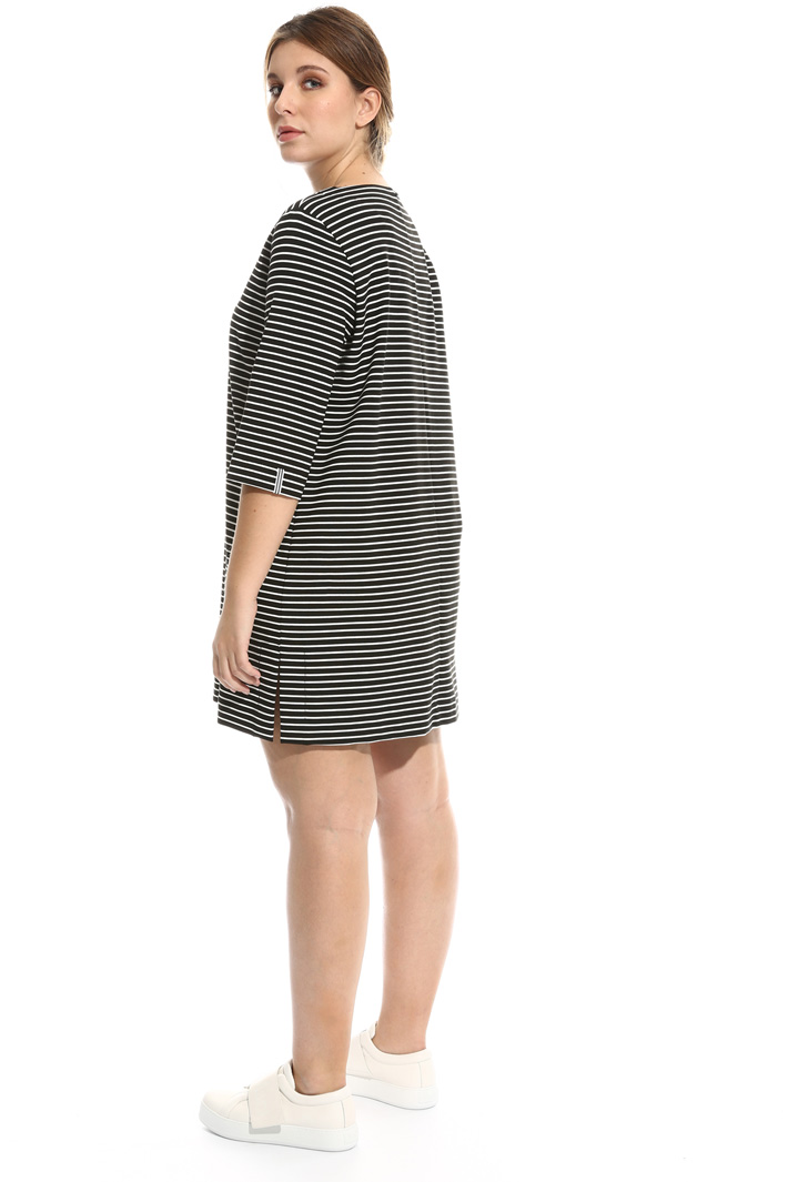 Striped jersey dress Intrend