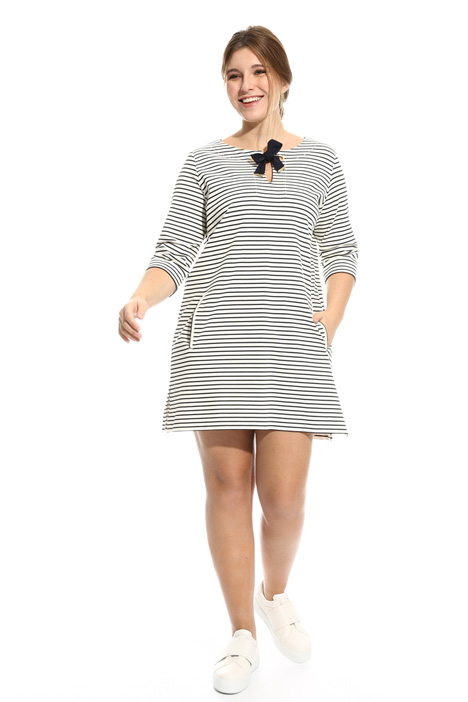 Striped jersey dress Diffusione Tessile