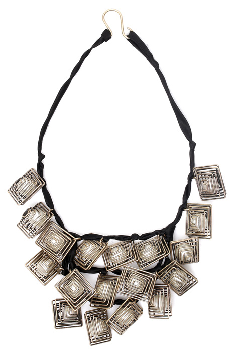 Geometric element necklace Diffusione Tessile
