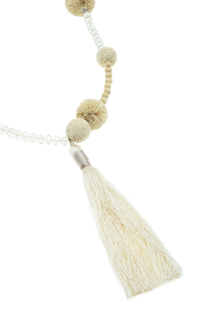 Pom Pom necklace Intrend
