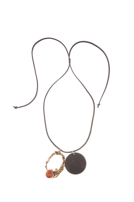 Ethnic pendant necklace Intrend