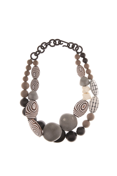 Ethnic stone necklace Diffusione Tessile