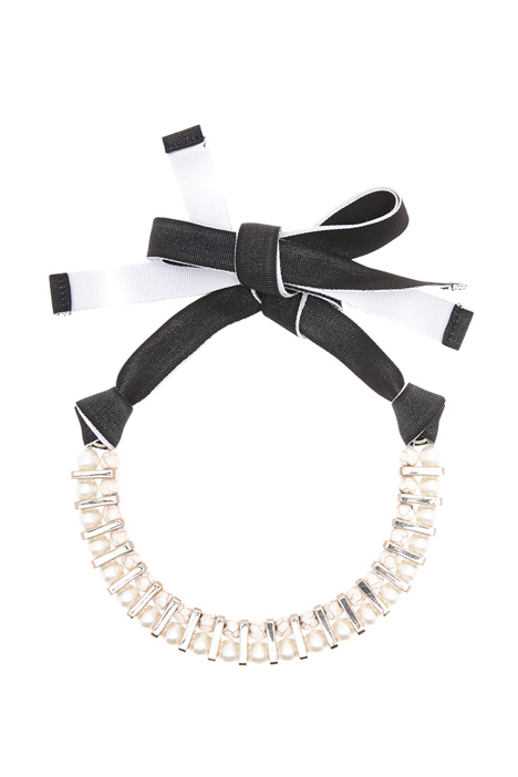 Faux-pearls chocker Intrend