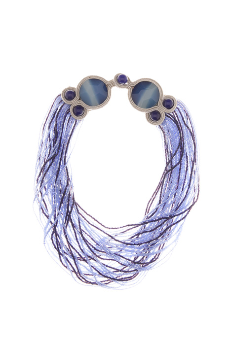 Multilayered necklace Diffusione Tessile