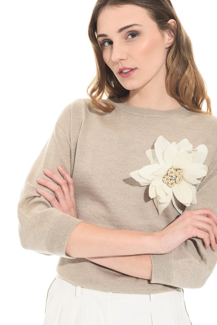 Spilla gioiello floreale Intrend