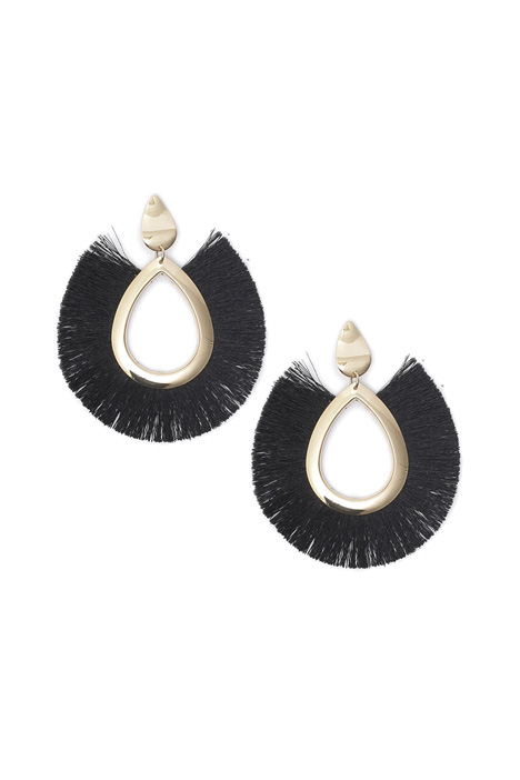 Maxi fringe earrings Intrend