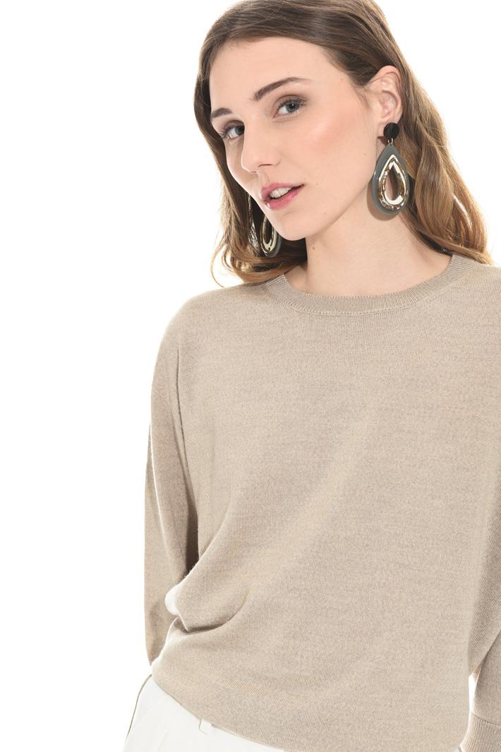 Pear-shaped drop earrings  Intrend