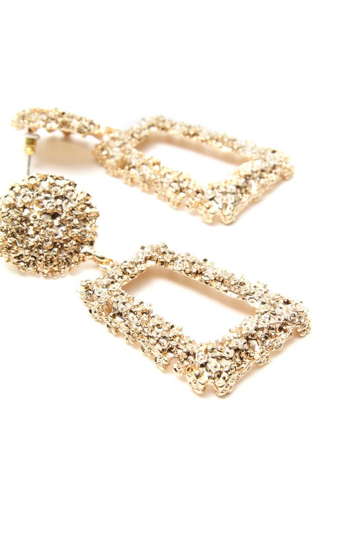 Metal pendant earrings Intrend