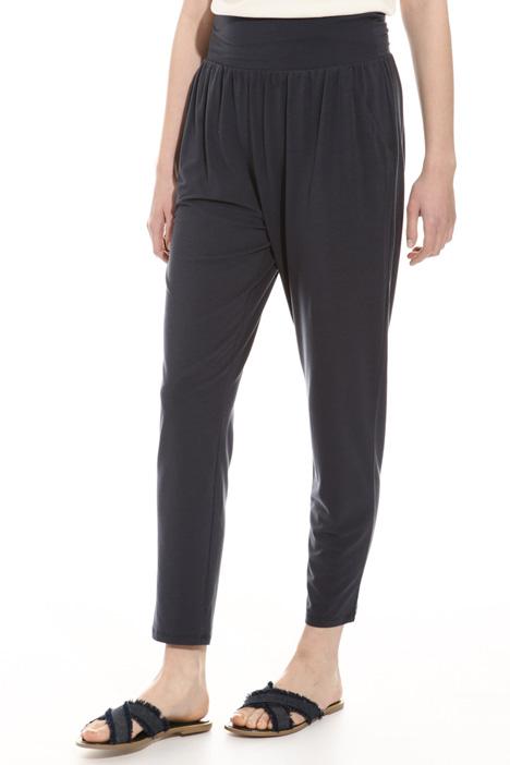 Elastic waistband trousers Diffusione Tessile