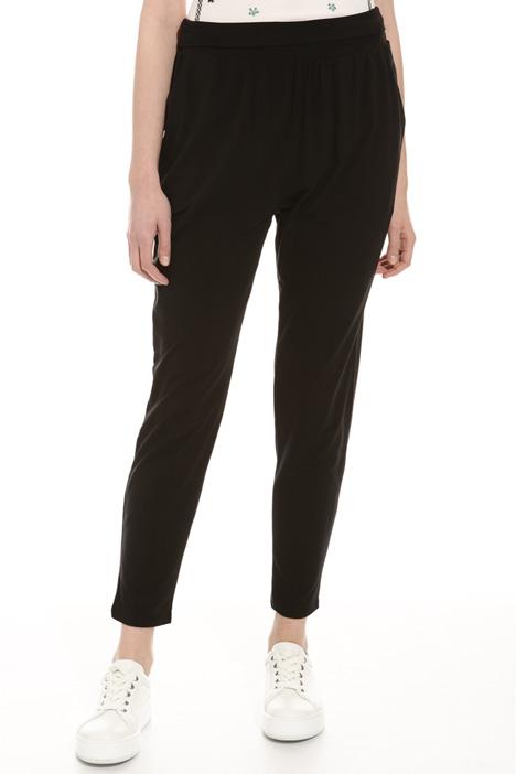 Pantalone con cintone elastico Diffusione Tessile
