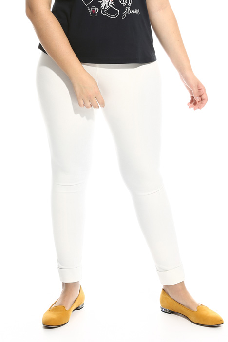 Pantaloni in jersey Diffusione Tessile