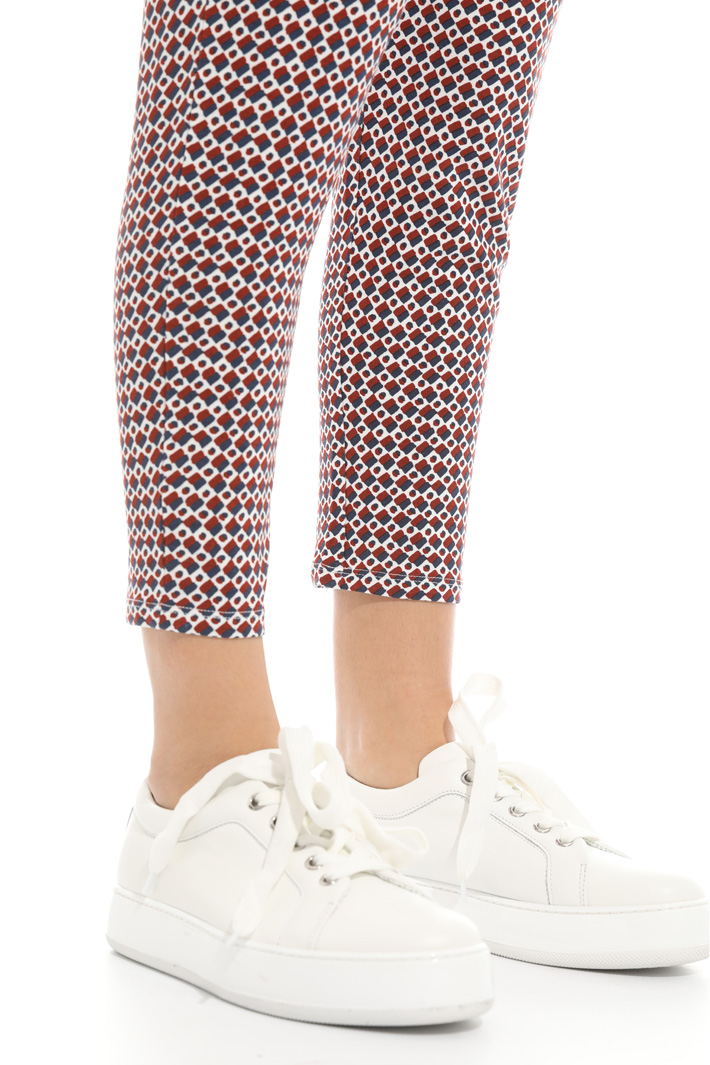 Pantalone in jersey stampato Intrend