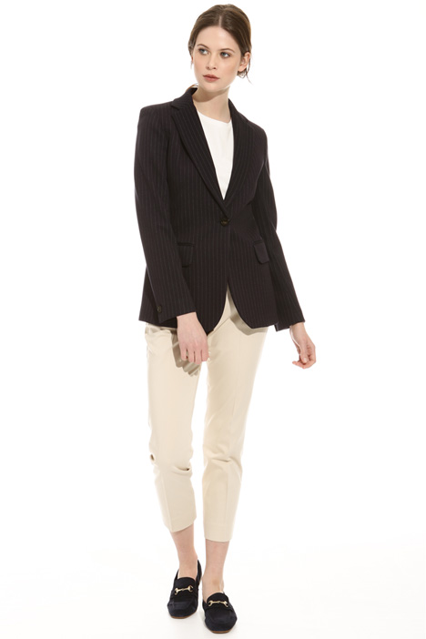 Blazer in jersey jacquard Intrend