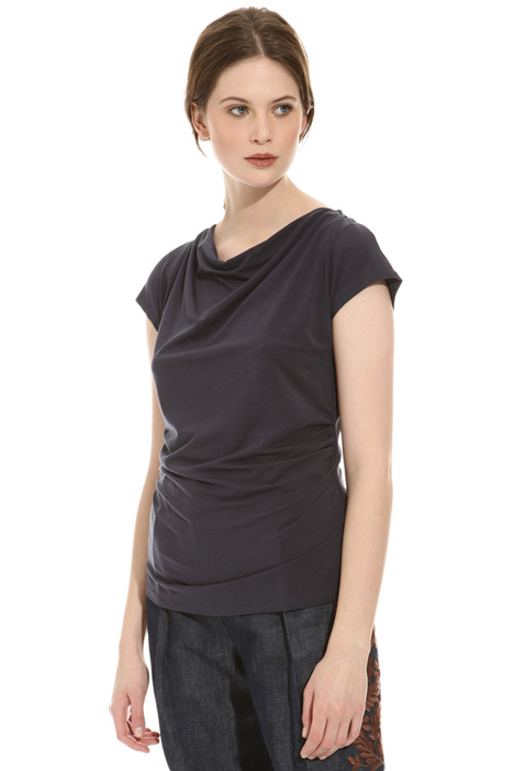 Loose neck T-shirt Intrend