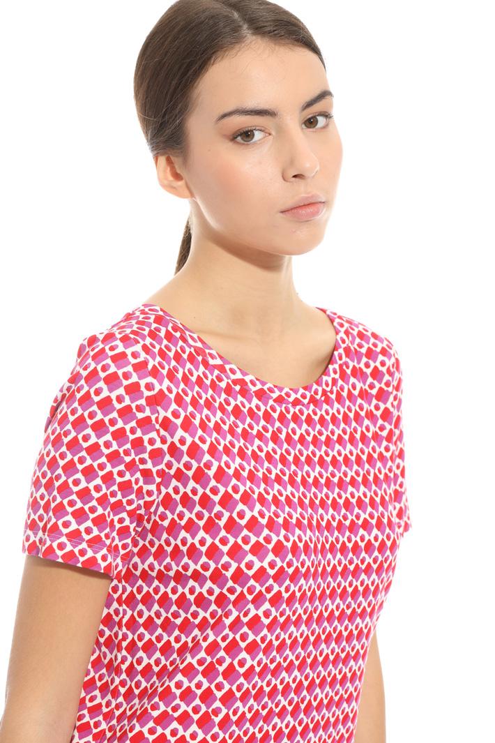 Back V-neckline dress Intrend