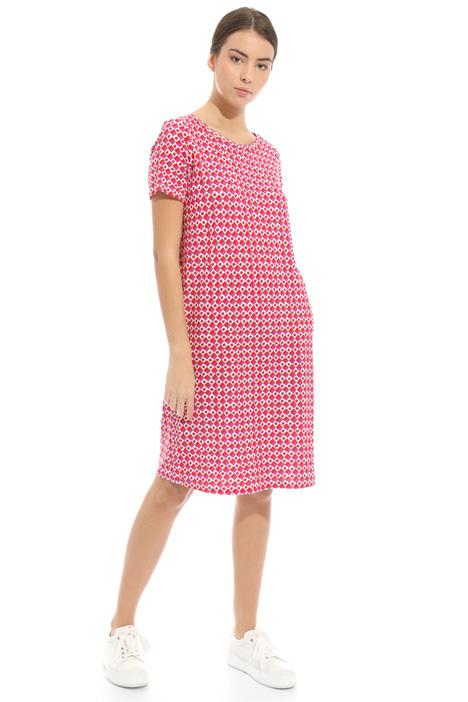 Back V-neckline dress Diffusione Tessile