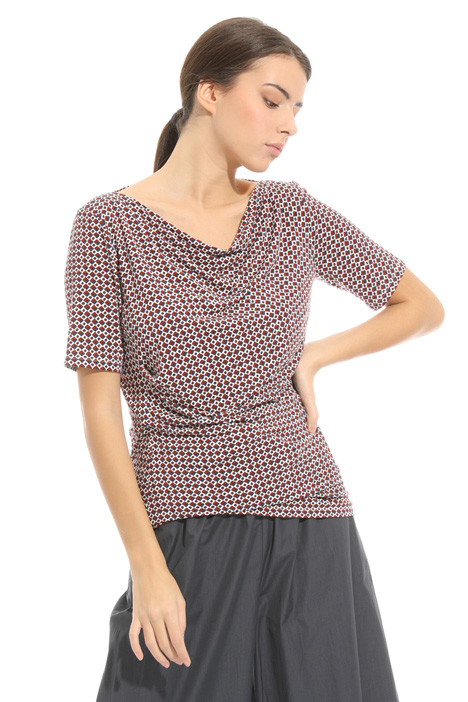 T-shirt in jersey stampato Diffusione Tessile