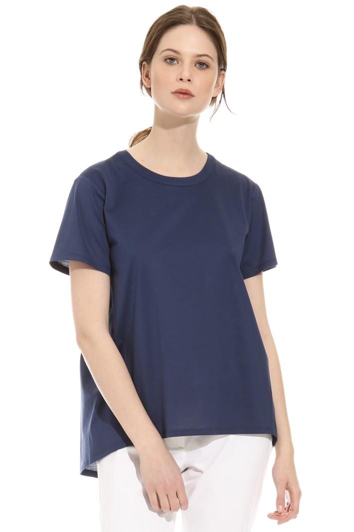 T-shirt con arricciatura  Intrend