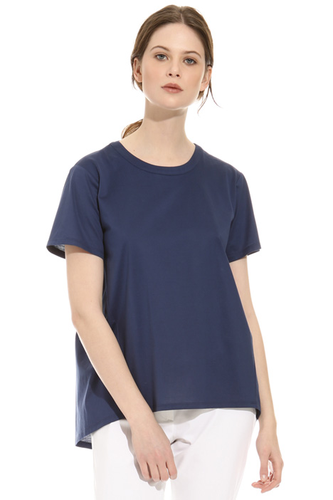 Ruched T-shirt Intrend
