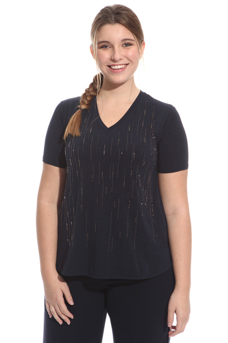 Bijou embroidered T-shirt Intrend
