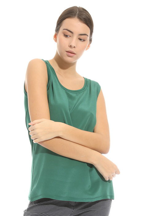Sleeveless jersey top Diffusione Tessile