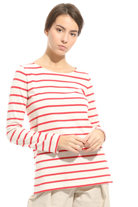 T-shirt in cotone stretch Intrend